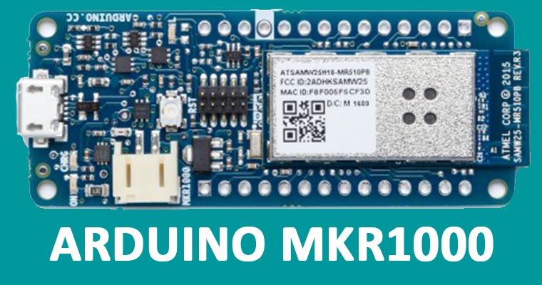 ARDUINO MKR1000 Electroniczone